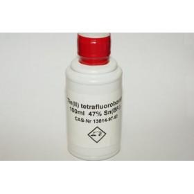 Tin(II) tetrafluoroborate 47% 100ml