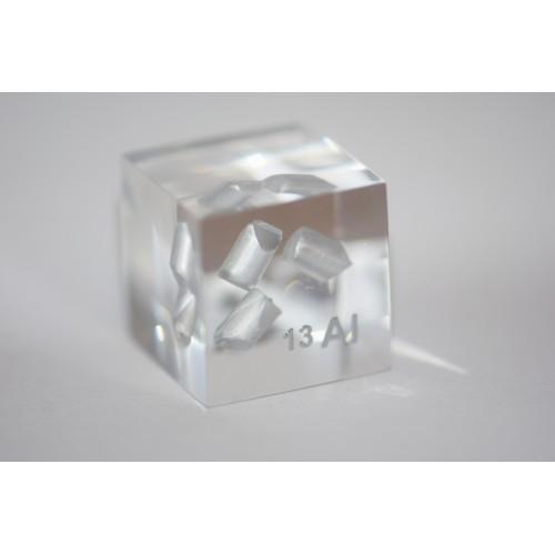 Aluminium (Acrylic cube 24x24x24mm)