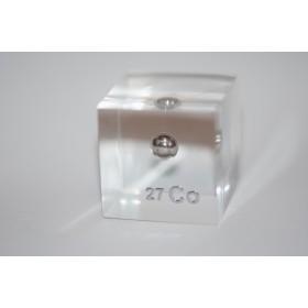 Cobalt (Acrylic cube 24x24x24mm)