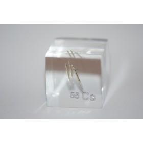 Cesium (Acrylic cube 24x24x24mm)
