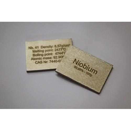 Niobium (bar) 99,95% - 100g