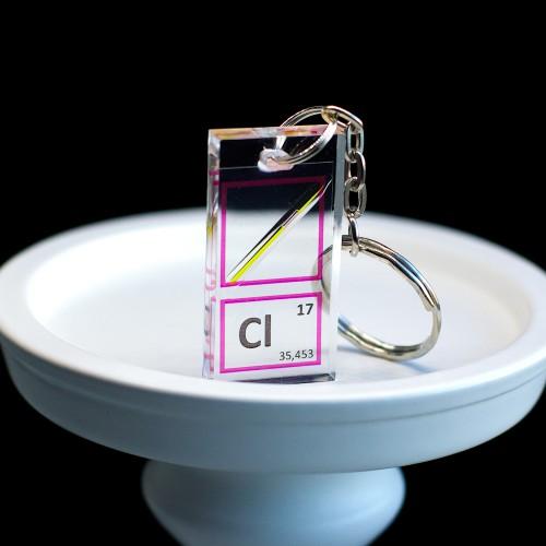 Chlorine keychain