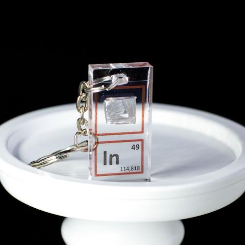 Indium keychain