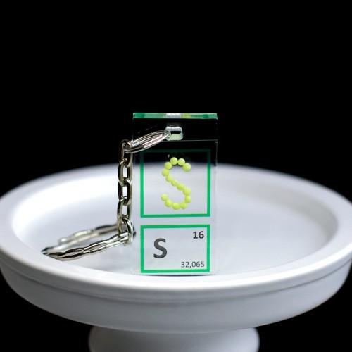 Sulfur keychain
