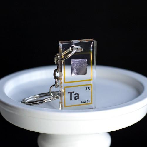 Tantalum keychain
