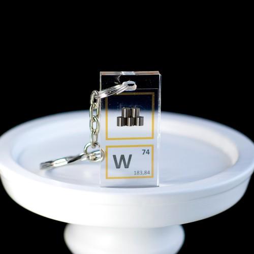 Tungsten keychain