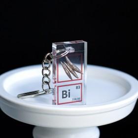 Bismuth keychain