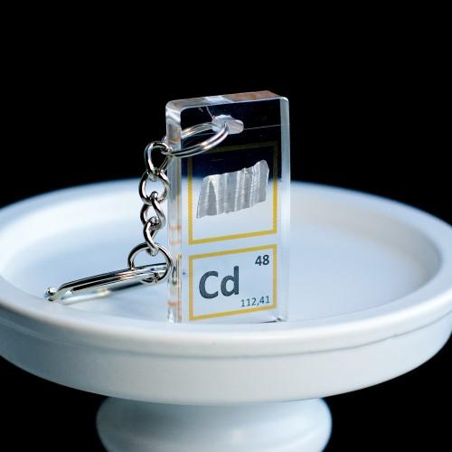 Cadmium keychain