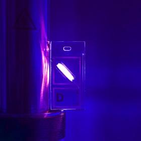 Deuterium keychain