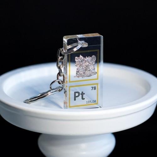 Platinum keychain