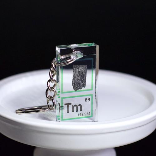 Thulium keychain