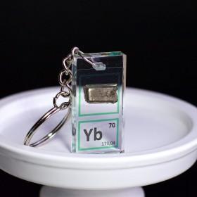Ytterbium keychain