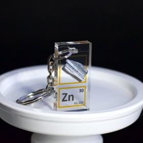 Zinc keychain