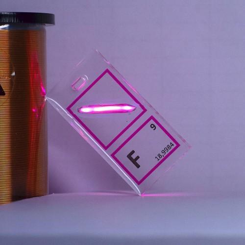 Fluorine keychain