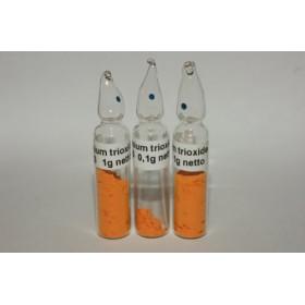 Uranium trioxide 0,1g